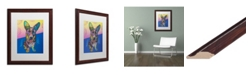 "Trademark Global Dean Russo 'Gracie' Matted Framed Art - 16"" x 20"""