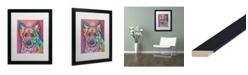 """Trademark Global Dean Russo 'Timber' Matted Framed Art - 16"""" x 20"""""""