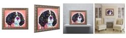 """Trademark Global Dean Russo 'King Charles' Ornate Framed Art - 11"""" x 14"""""""