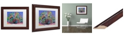 "Trademark Global Dean Russo 'La Lou 6' Matted Framed Art - 11"" x 14"""