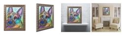 """Trademark Global Dean Russo 'Reza 20' Ornate Framed Art - 16"""" x 20"""""""
