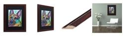 """Trademark Global Dean Russo 'Reza 20' Matted Framed Art - 16"""" x 20"""""""