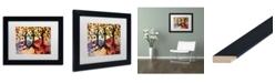 "Trademark Global Natasha Wescoat '014' Matted Framed Art - 11"" x 14"""