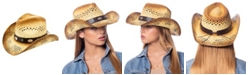 Angela & William Cowboy Hat with Trim Band and Studs