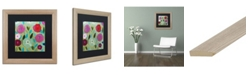 """Trademark Global Carrie Schmitt 'Peace' Matted Framed Art - 16"""" x 16"""""""