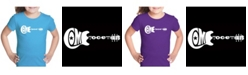 LA Pop Art Girl's Word Art T-Shirt - Come Together