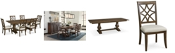 Trisha Yearwood Home Trisha Yearwood Trisha Dining Furniture, 7-Pc. Set (Expandable Table & 6 Side Chairs)