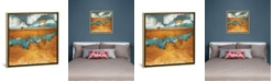 """iCanvas Desert River by Spacefrog Designs Gallery-Wrapped Canvas Print - 26"""" x 26"""" x 0.75"""""""