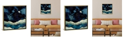 "iCanvas Indigo Sky by Spacefrog Designs Gallery-Wrapped Canvas Print - 37"" x 37"" x 0.75"""