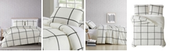 Truly Soft Kurt Windowpane King Comforter Set