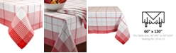 """Design Imports Country Plaid Tablecloth 60"""" x 120"""""""
