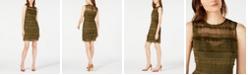Elie Tahari Renee Fringe Crochet Dress