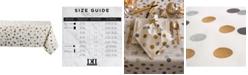 """Design Import Metallic Confetti Tablecloth 60"""" x 104"""""""
