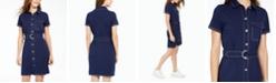 Ultra Flirt Juniors' Contrast-Stitch Dress