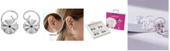 Levears 4 Pairs Earring Back Set in Stainless Steel