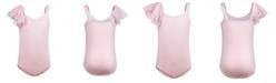 Flo Dancewear Little & Big Girls Flutter-Shoulder Leotard