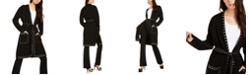 INC International Concepts I.N.C. Studded Cardigan & Straight-Leg Pants, Created for Macy's