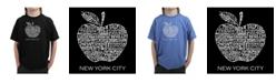 LA Pop Art Boy's Word Art T-Shirt - Neighborhoods in NYC