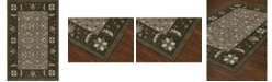 D Style CLOSEOUT! Torrey Tor1 Chocolate 5' X 7'6 Area Rugs