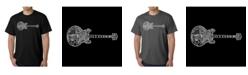 LA Pop Art Men's Word Art T-Shirt - Blues Legends