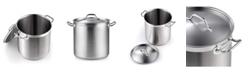 Cooks Standard Professional Grade Lid 11 Quart Stainless Steel Stockpot, Model 02615