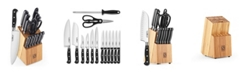 Cook N Home 15-Piece Knife Set with Storage Block,Model  02630
