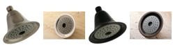 Kingston Brass 2 Function 6-Inch 1.75GPM ABS Shower Head with ABS Bal-Jnt