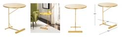 Safavieh Sionne C-Shape Side Table