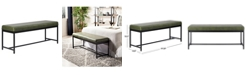 Safavieh Chase Faux Leather Bench