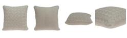 Parkland Collection Aldo Transitional Beige Pillow Cover