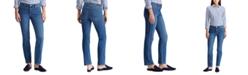 Lauren Ralph Lauren Petite Modern Straight Curvy Jean