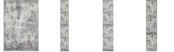 Bridgeport Home Basha Bas6 Dark Gray Area Rug Collection