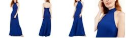 Teeze Me Juniors' Halter Gown