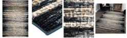 "Palmetto Living ORI410747 Adagio China Key Black 5'1"" x 7'6"" Area Rug"