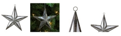 "Northlight 5.75"" Mirrored Five Point Star Christmas Ornament"