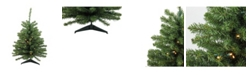 Northlight 3' Pre-Lit LED Canadian Pine Artificial Christmas Tree - Clear Lights