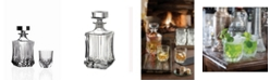Lorren Home Trends Adagio 7 Piece Whiskey Set with Double Old Fashion Glasses