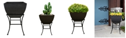 "RTS Home Accents 20"" Square Planter with Stand"