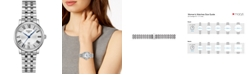 Tissot Women's Swiss Carson Premium Stainless Steel Bracelet Watch 30mm