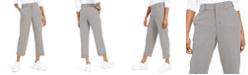 Dickies Cropped Gingham-Print Pants