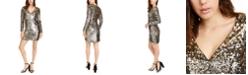 Aidan by Aidan Mattox Sequined Bodycon Dress