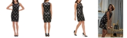 Tommy Hilfiger Sequined Stars Sheath Dress