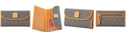 Dooney & Bourke Blakely Signature Continental Wallet
