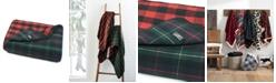 Eddie Bauer Ridgeline Lodge Tartan Dark Green Blanket