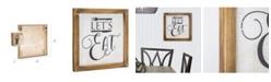 Crystal Art Gallery American Art Decor Let's Eat Farmhouse Wood Sign