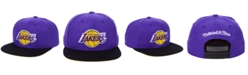 Mitchell & Ness Los Angeles Lakers 2 Tone Classic Snapback Cap