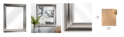 Crystal Art Gallery American Art Decor Clarence Silver Wall Vanity Mirror