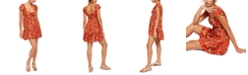 Free People Pattern Play Mini Dress