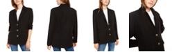 Kit & Sky Oversized Long-Sleeve Blazer