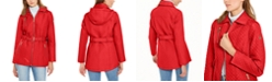 Michael Kors Quilted Hooded Belted Jacket